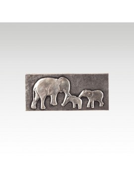 ELEPHANT WITH BABY BOX