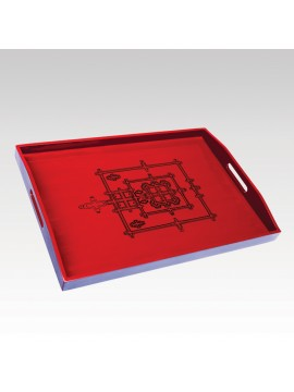 ANGKOR TRAY RED BACKGROUND