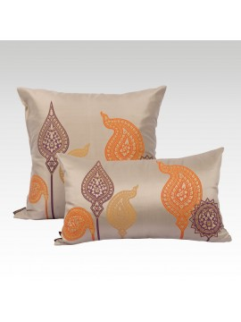 UMBRELLA SILK CUSHION COVER